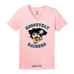 Ladies V-Neck T-Shirt with...